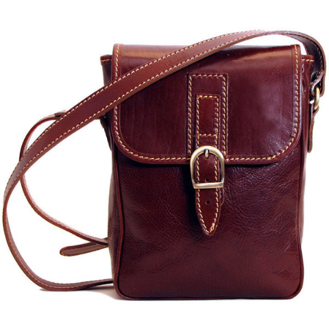 97db08137f14 Floto Poste Field Bag Brown | Táskák | Bags, Mens luggage, Leather ...