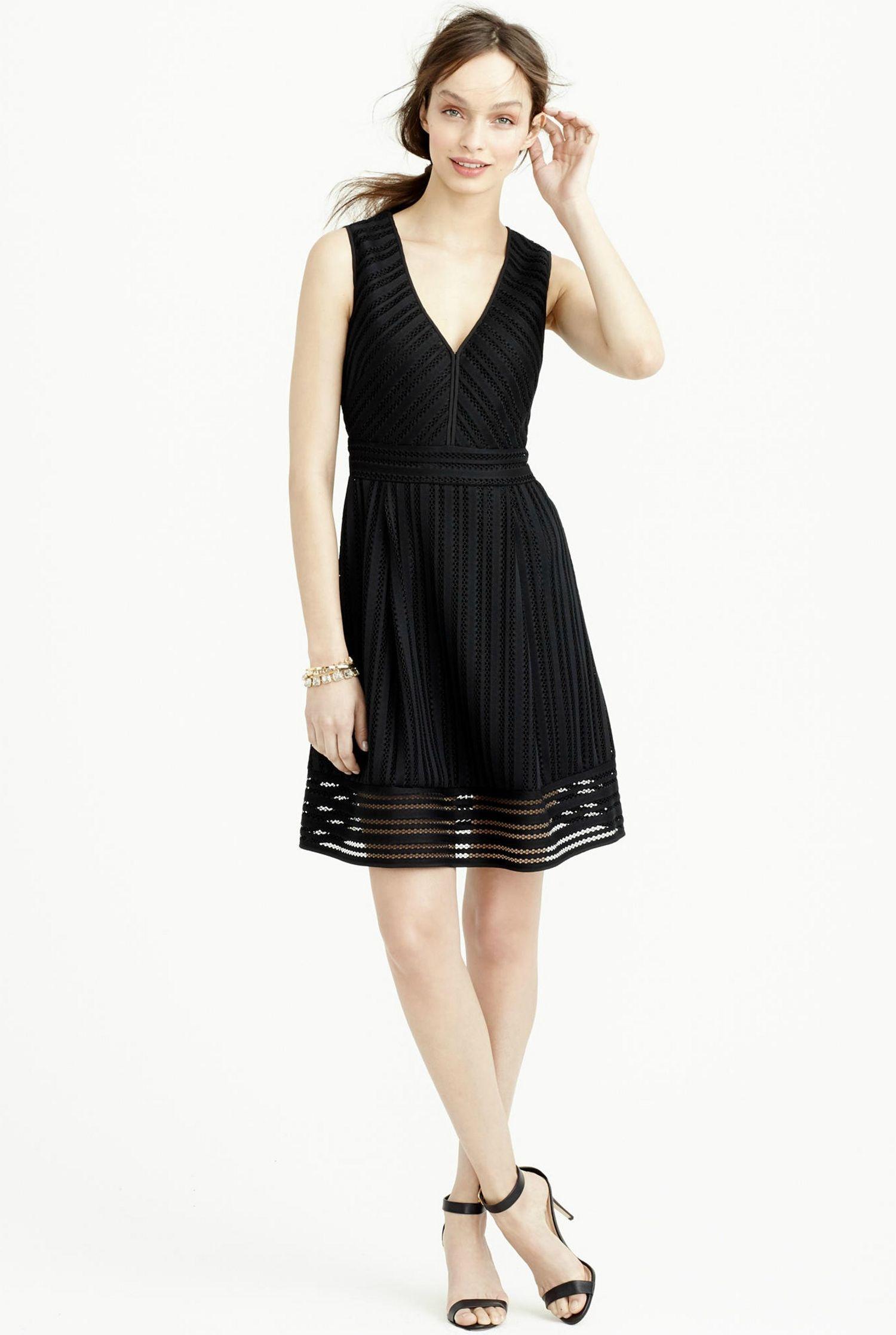 Simple Black Dress For Wedding