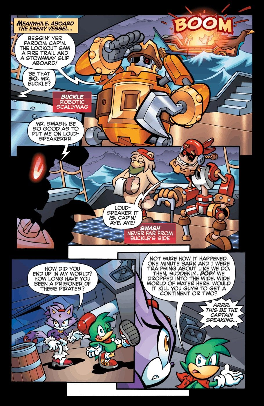 Pirate Plunder Panic. Part 1. Page 12.