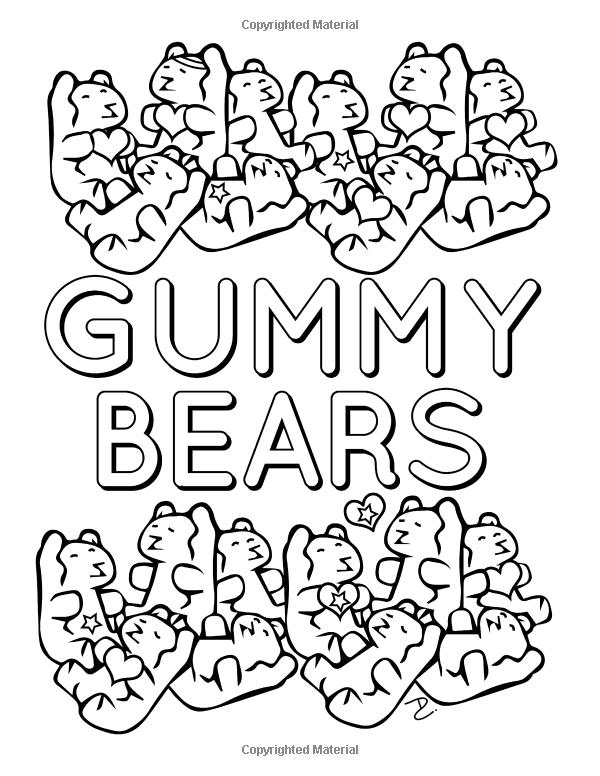 Amazon Com мир конфеты книжка раскраска 24 милая раскраски