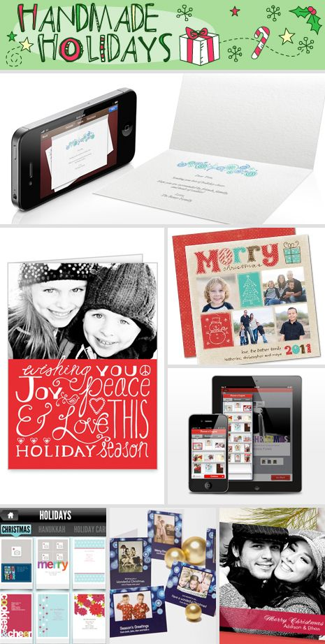 Top pics for the best websites and apps to help you turn your family photo into a one-of-a-kind Christmas photo card.
