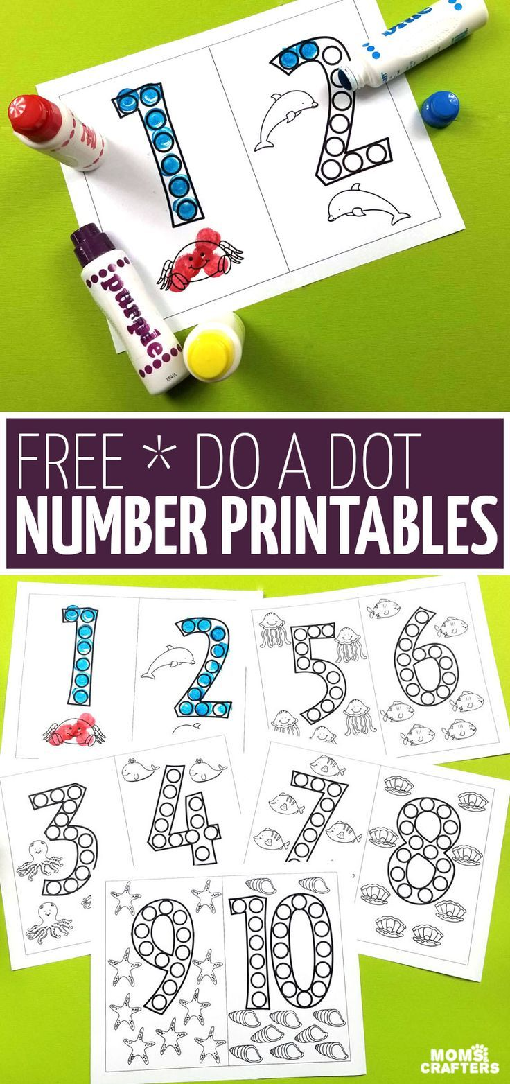 These Free Do A Dot Number Printables Are A Great Way For Kids To Have Fun Learning Number Forms Without Worksheet Numbers Preschool Do A Dot Kindergarten Prep [ 1564 x 736 Pixel ]