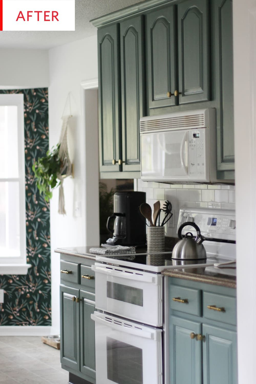 Before And After This Is Not One Of Those Wall To Wall White Kitchen Remodels White Kitchen Remodeling Kitchen Design Small Kitchen Cabinets
