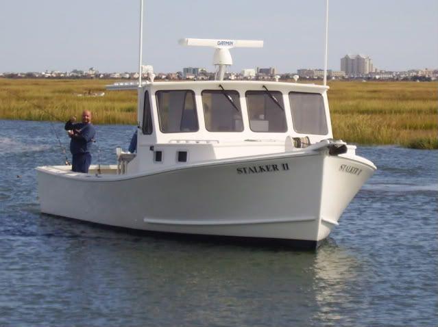 34ft Calvin Beal Boat Tuna Boat Lobster Boat
