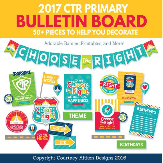 Choose the Right / CTR: LDS Primary ... - Gospel Grab Bag