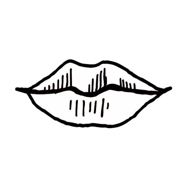 Coloring Page Mouth Lips Free Printable Realistic Coloring