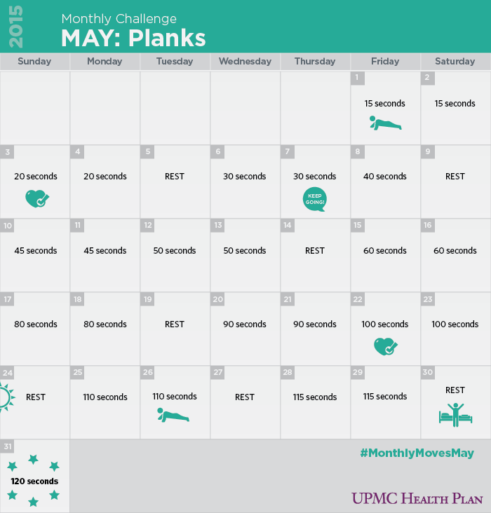 photo regarding Printable Plank Challenge identified as Printable 30 Working day Plank Dilemma For Inexperienced persons track record