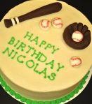 Baseball cake.