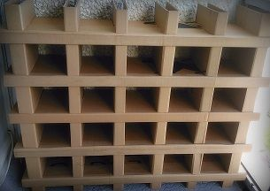Meuble Sans Colle Ni Vis En Carton Recycle Meuble En Carton Etagere En Carton Carton