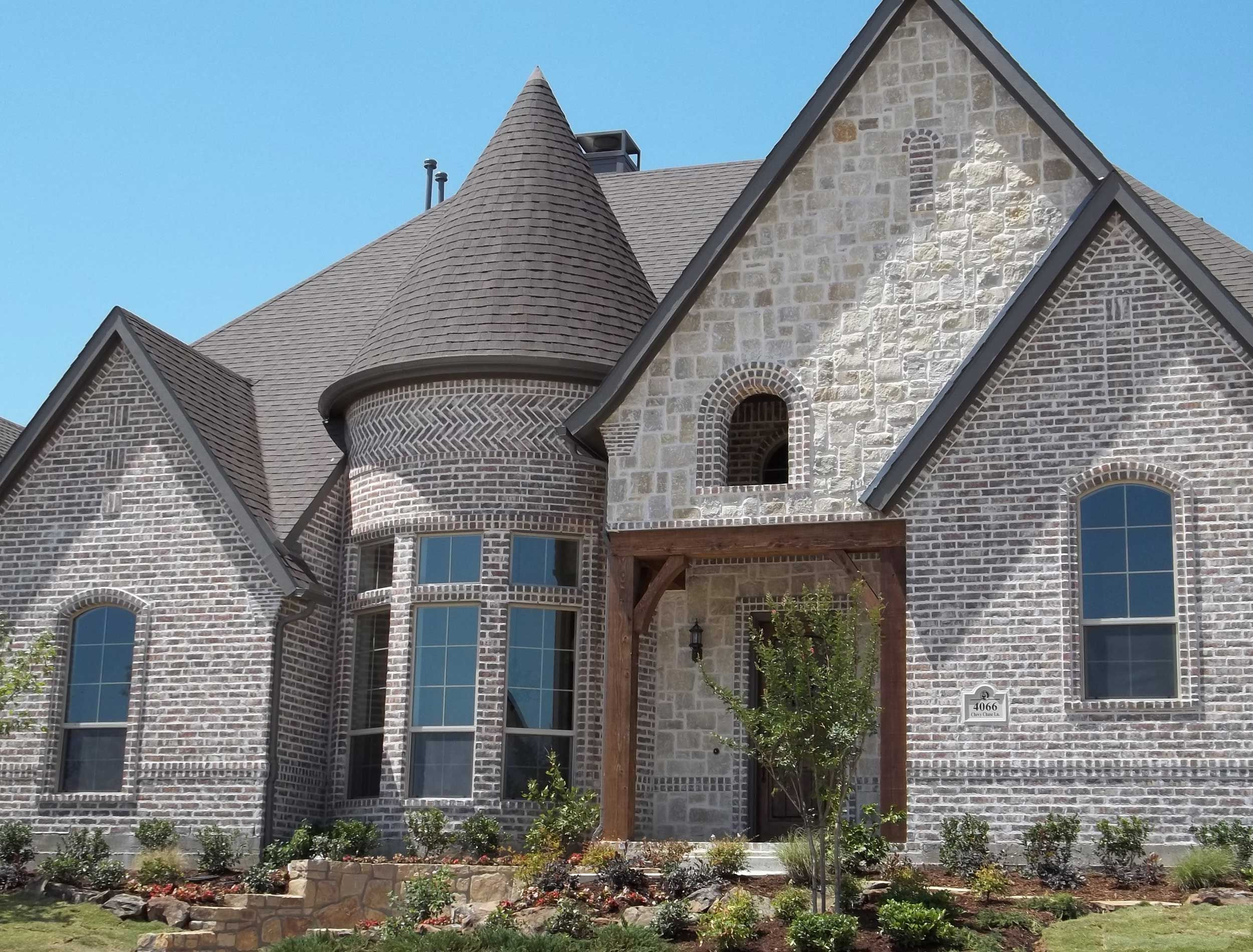 Cbc brown canton classic ks new house pinterest for Face brick homes