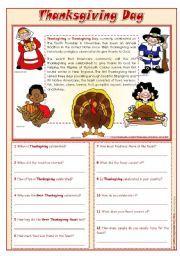 English worksheets thanksgiving day reading comprehension english worksheets thanksgiving day reading comprehension editable vocabulary worksheets printable ibookread Download