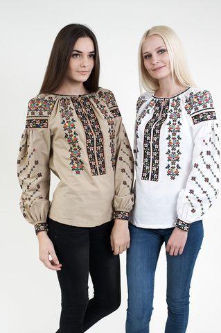 Вишиванка жіноча з кольоровою вишивкою арт  306-17 00 купити в Україні і  Києві - відгуки aa99b8a22053f
