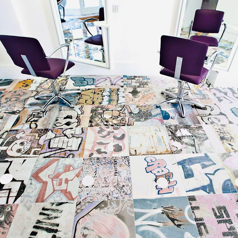 Graffiti wall tiles - Merola Tile Bansky 17 3 8 In X 17 3 8 In Porcelain Floor And Wall Tile 10 8 Sq Ft Case