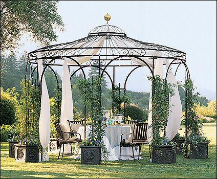Simple Gartenpavillon