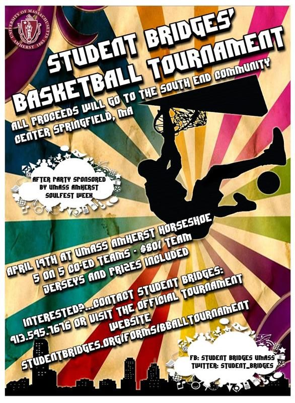 Basketball Tournament Flyer  Flyer For Student Bridges Basketball
