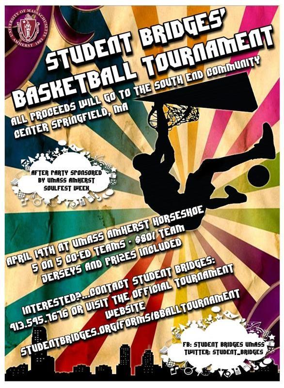 Basketball Tournament Flyer  Flyer For Student Bridges Basketball