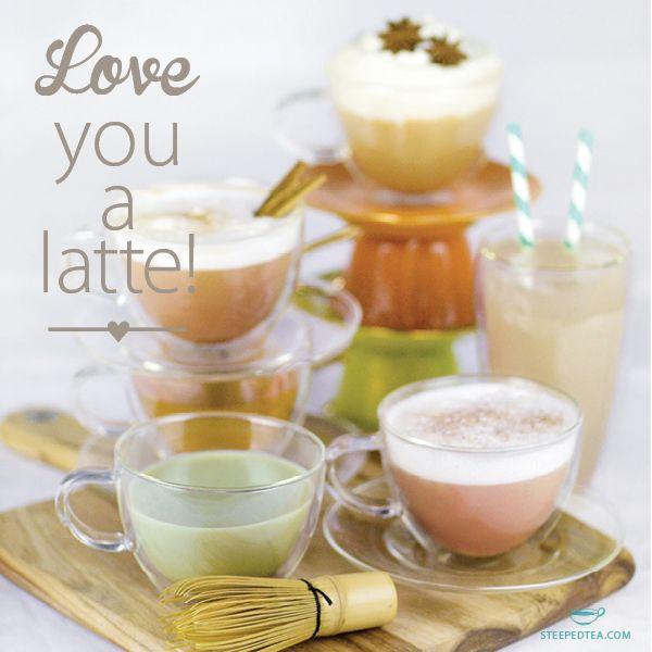 We've Got Six Delicious Loose Leaf Tea-based Latte Blends