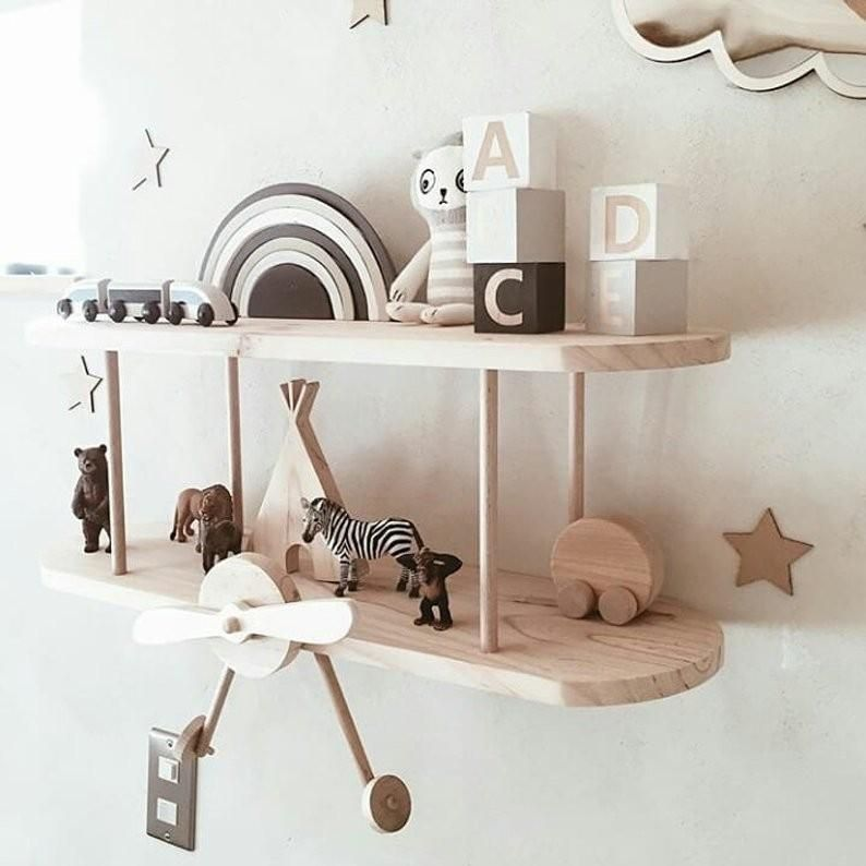 Clever Organize Floating Bookshelves Nursery Craft And Home Ideas Nursery Shelves Nursery Wall Shelf Baby Room Shelves