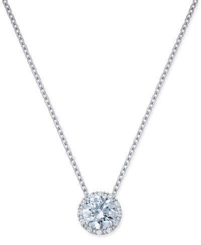 manhattan chain jewelry atelier crystal in swarovski lyst normal small product necklace metallic