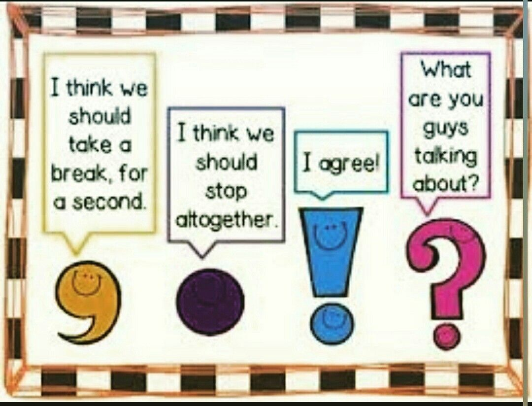 Pin About Teaching Punctuation Punctuation Posters And