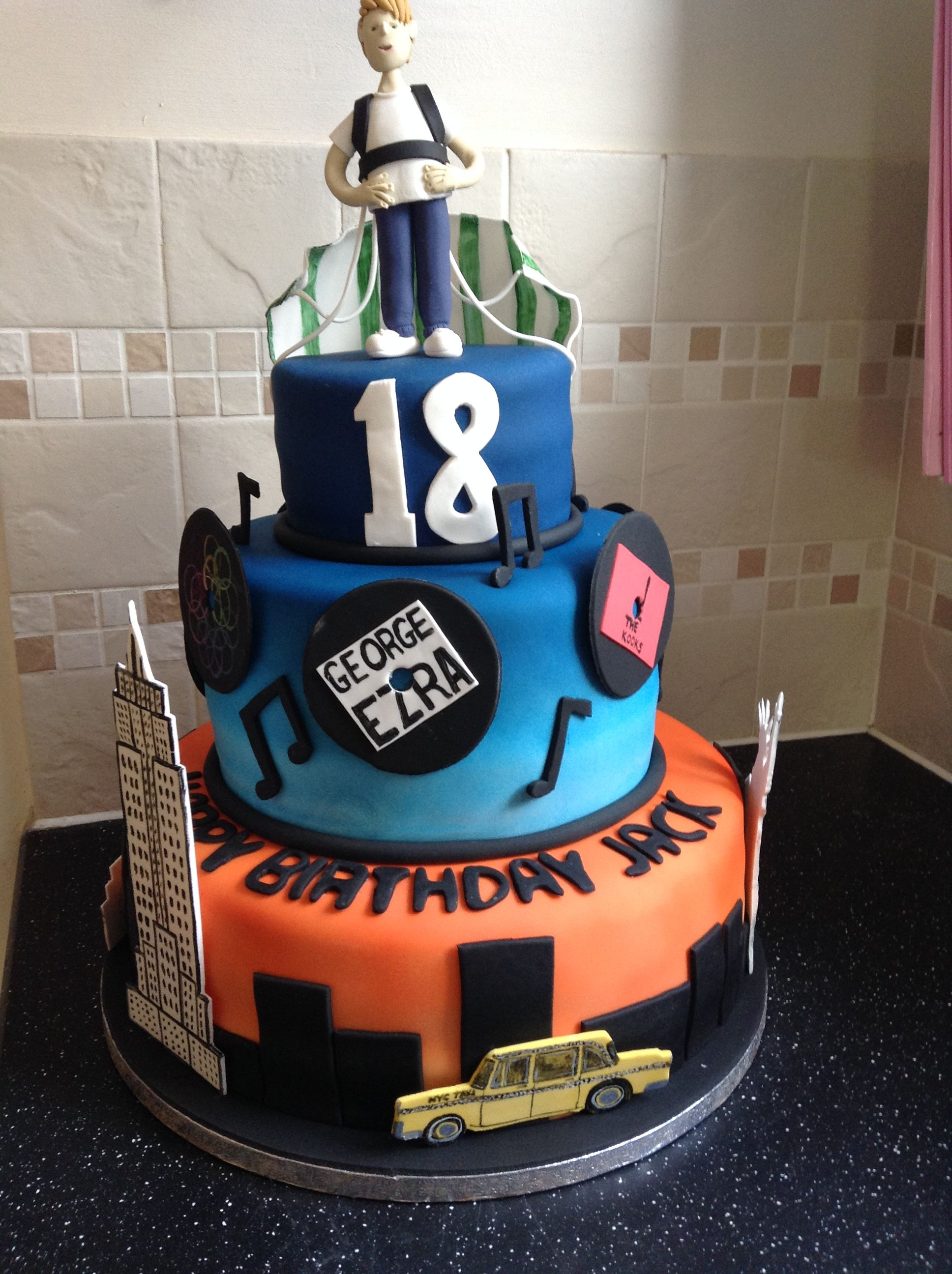 personalised birthday cakes images