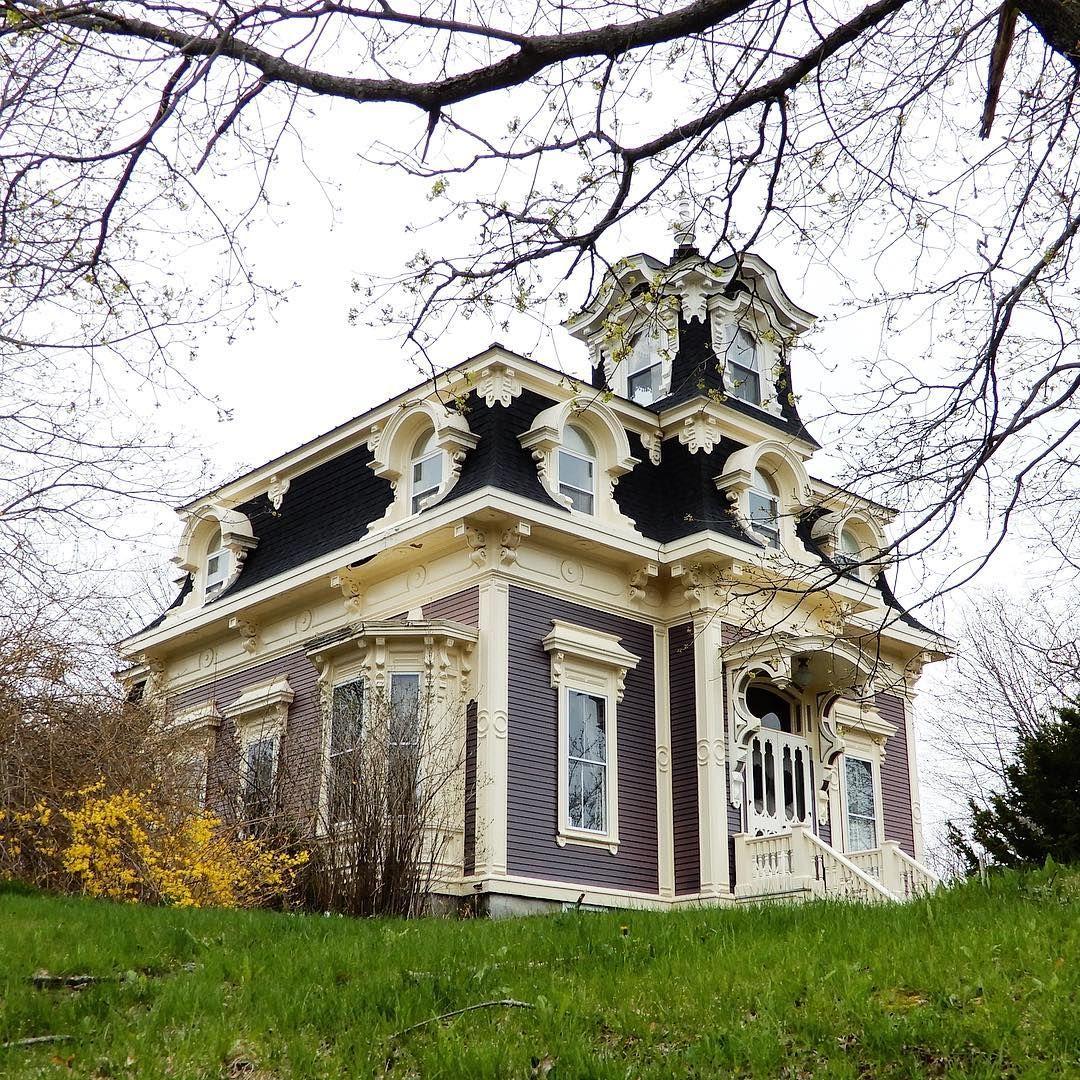 Best A Second Empire Beauty Arkitektur Gamla Hus Byggnader 400 x 300