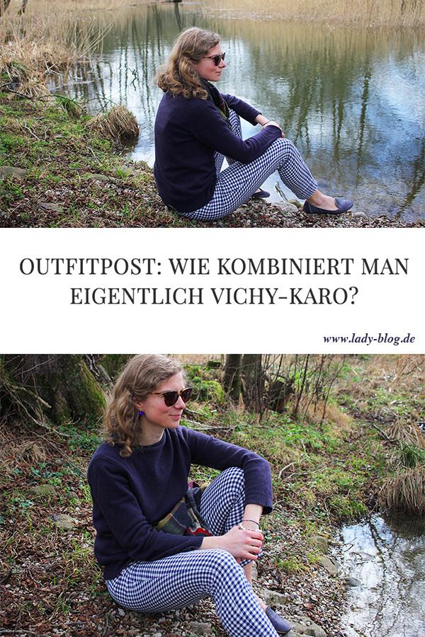 Outfitpost: Wie kombiniert man eigentlich Vichy-Karo? - Lady-Blog