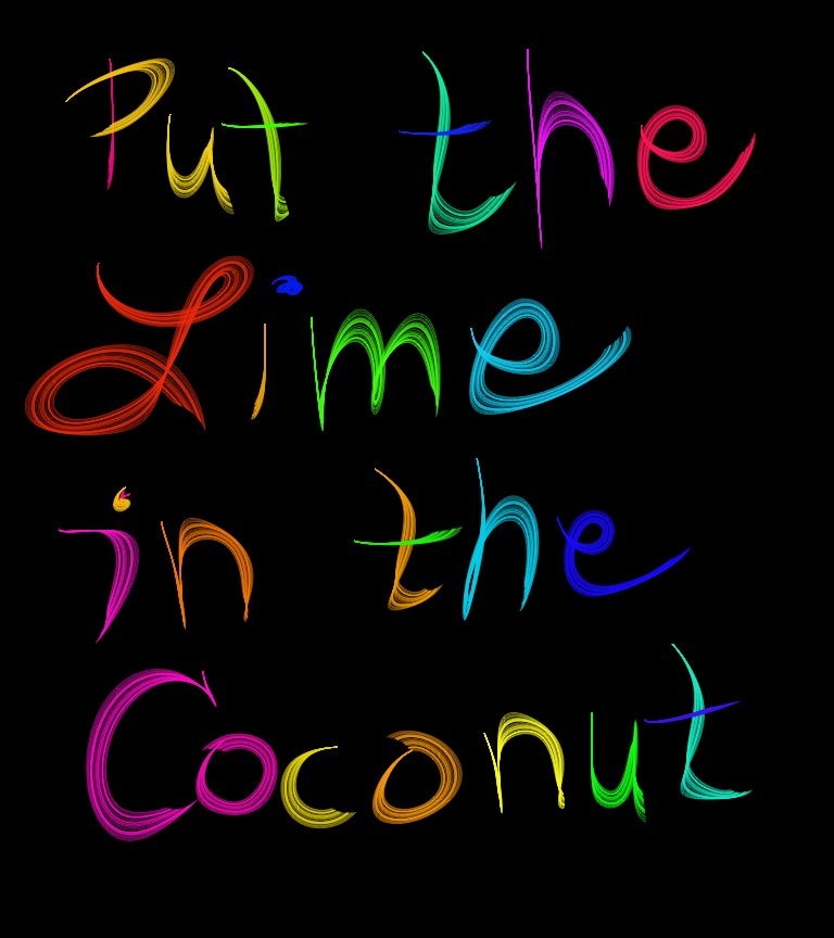 Lyric lime and the coconut lyrics : Put the Lime in the Coconut ~ Harry Nilsson | Ear Candy ...