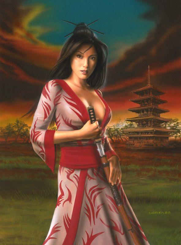 Opinion Asian fantasy art women warriors thanks you