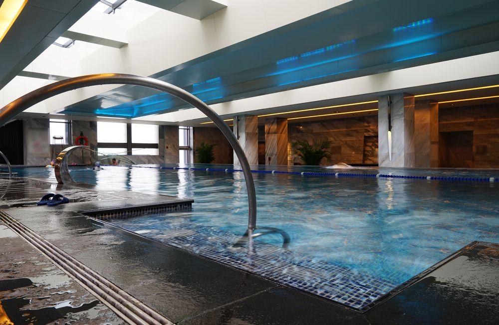 Lifestyle  luxury swimming pool