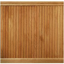 8 Linear Ft Red Oak Tongue And Groove Wainscot Paneling Wainscoting Panels Wainscoting Beadboard Wainscoting