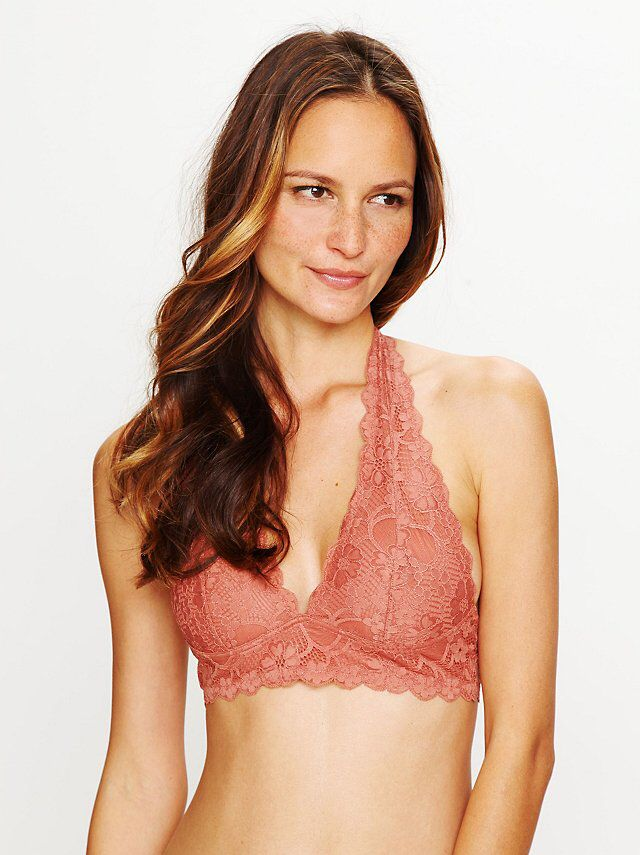 cbc7bb825c Galloon Lace Halter Bra from Free People!