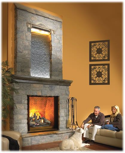 Napoleon Fireplaces - The DreamT BGD90 direct vent gas fireplace ...