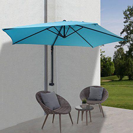 Parasol mural casoria parasol déporté pour le balcon 3m inclinable 74 €