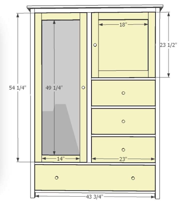 Wardrobe Dimensions (With Images)