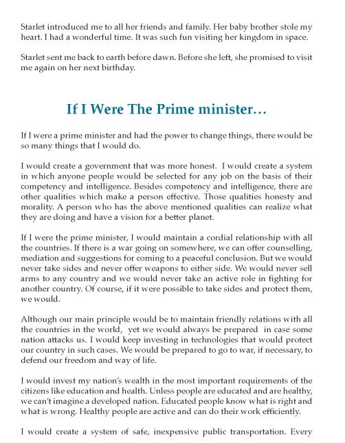 8th Grade Imaginative Essay Sample Writing Skill English Letter Skills My Country