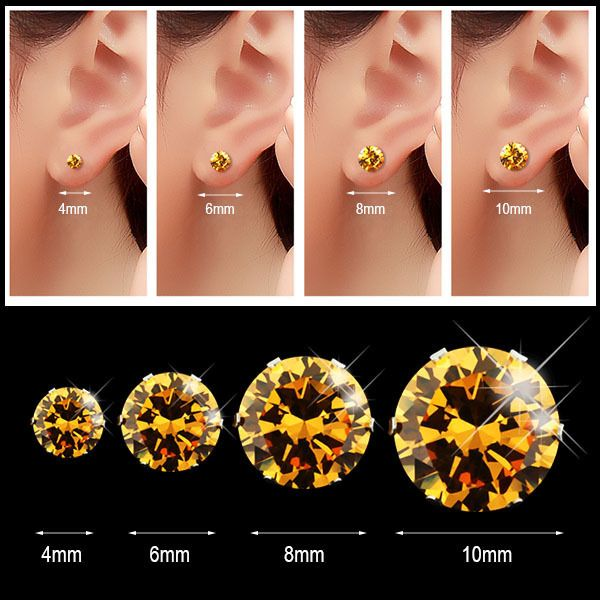 Earring Sizes Sizing Guide At My Love Wedding Ring