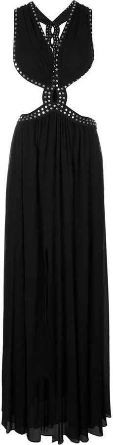 Jay Ahr studded cut-out evening dress - $3,846.34