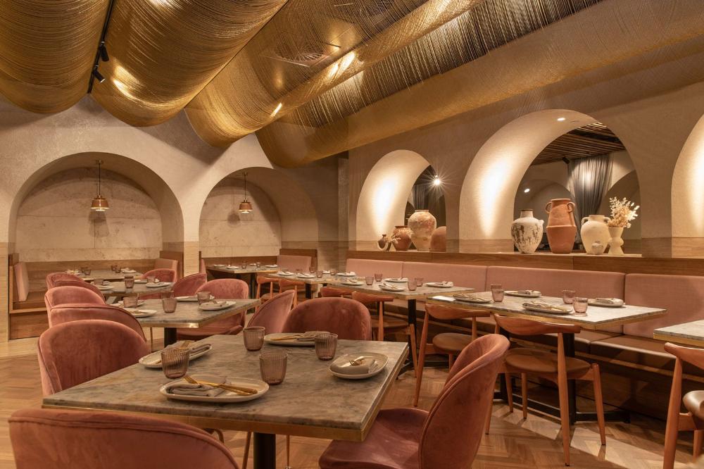 Babylon Restaurant in Westfield Sydney by Hogg & Lamb in