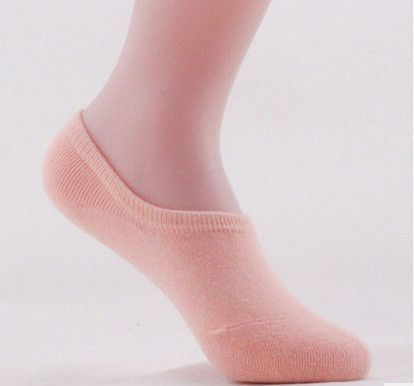 Free Shipping 20pcs=10 pairs/lot Bamboo fiber cotton Womens candy colors invisible Socks anti- slip ankle sox lady high qualtiy