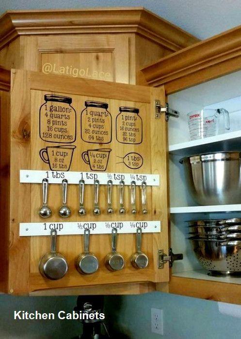 Küchenschrank Designs - Ideen für Küchenschränke Diy # ...