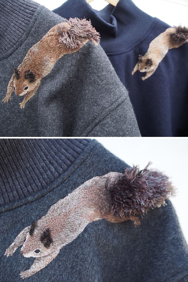 Clever Embroidery Imagines Squirrels Running Amok On Ordinary