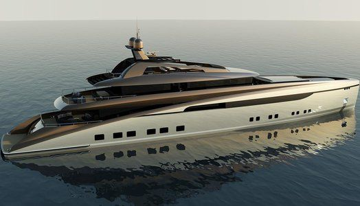 Have a look at 170 Merideon superyacht concept by Sunrise Yachts