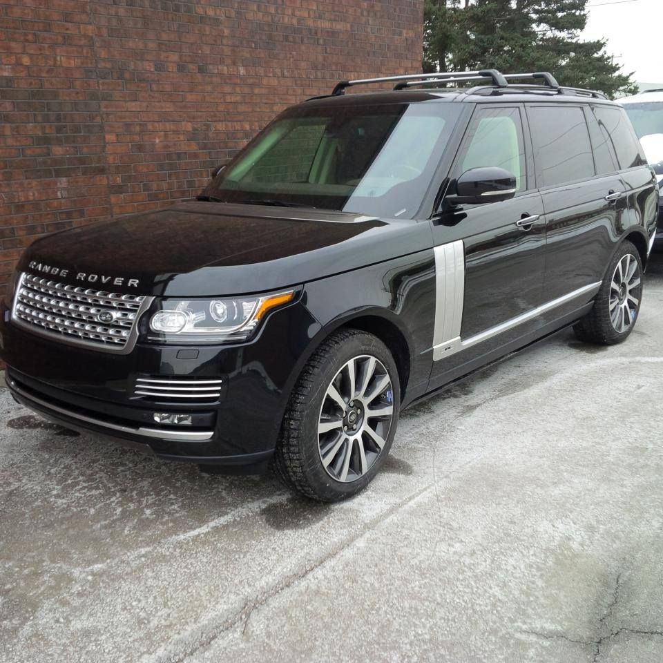 Just finished this beautiful range rover autobiography long wheel base armored