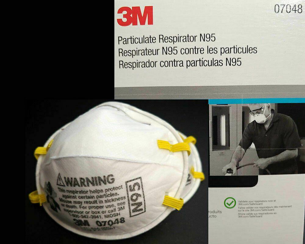 3m n95 respirator mask 07048