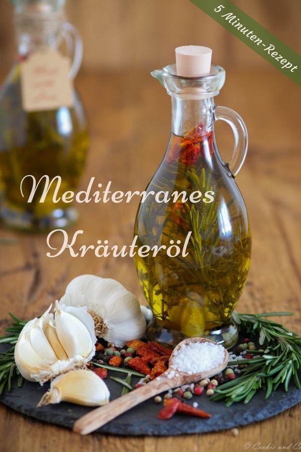 Photo of Mediterranes Kräuteröl: würzig & aromatisch | Cookie und Co