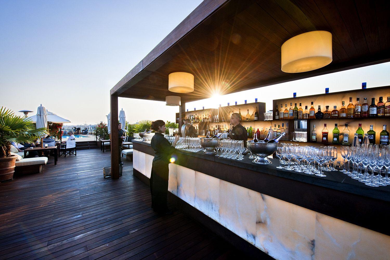 Terrace Isabela At Hotel 1898 Barcelona Spain Bar Lounge
