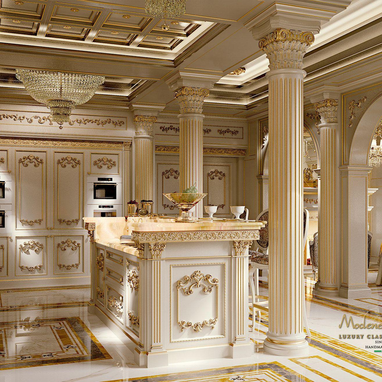 Luxury Homes Interior Kitchen: ~ The Kitchen Royal ~ Modenesegastone.com