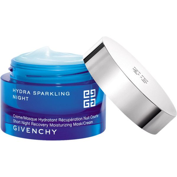 Givenchy Beauty Hydra Sparkling Night Cream Mask (6630 RSD) ❤ liked on Polyvore featuring beauty products, skincare, face care, face masks, beauty, colorless, givenchy mask, facial mask, face mask and givenchy