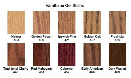 Varathane Gel Stain Colors Google Search